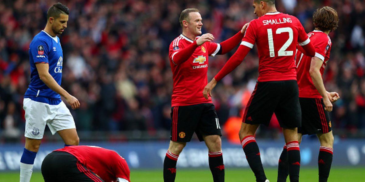Martial le da en la agonía la clasificación a Manchester United a la final de la FA Cup