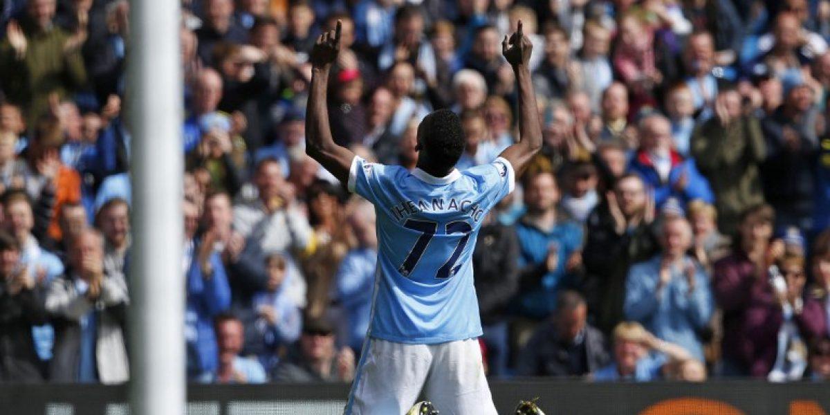 Manchester City de Pellegrini golea al Stoke y se mantiene en la zona de Champions