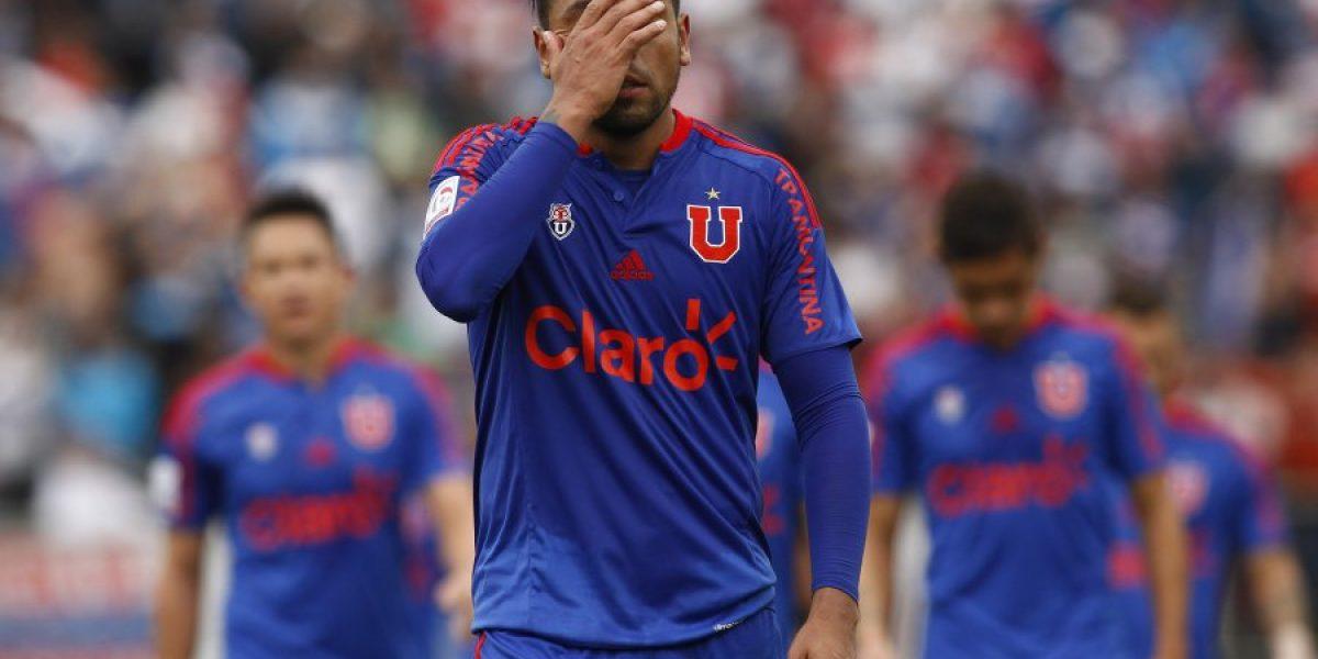 Uno a uno de la U: Benjamín Vidal en deuda y Patricio Rubio desaparecido