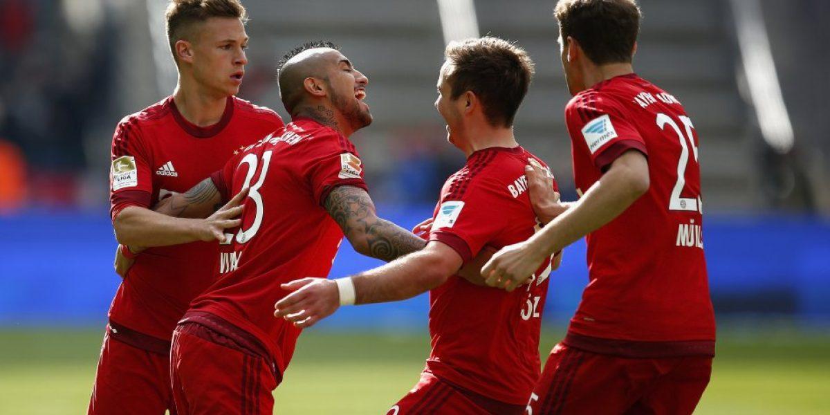 Video: El nuevo gol de Arturo Vidal que extiende su gran momento en el Bayern