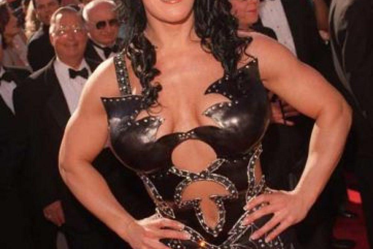 Fue la luchadora estrella de la WWE (en la época de la WWF). Foto:Getty Images. Imagen Por: