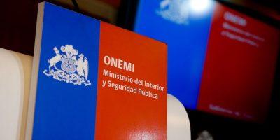 Último informe de Onemi por sistema frontal: 33 damnificados y un desaparecido