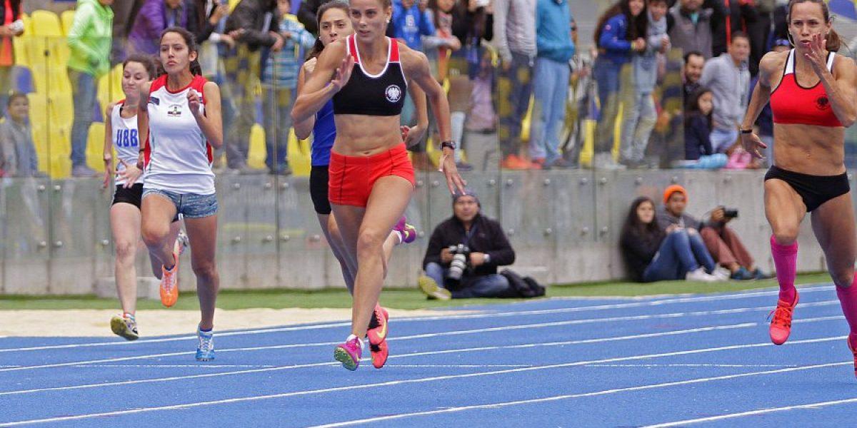 Isidora Jiménez se quedó con el oro en los 200 metros planos en Colombia