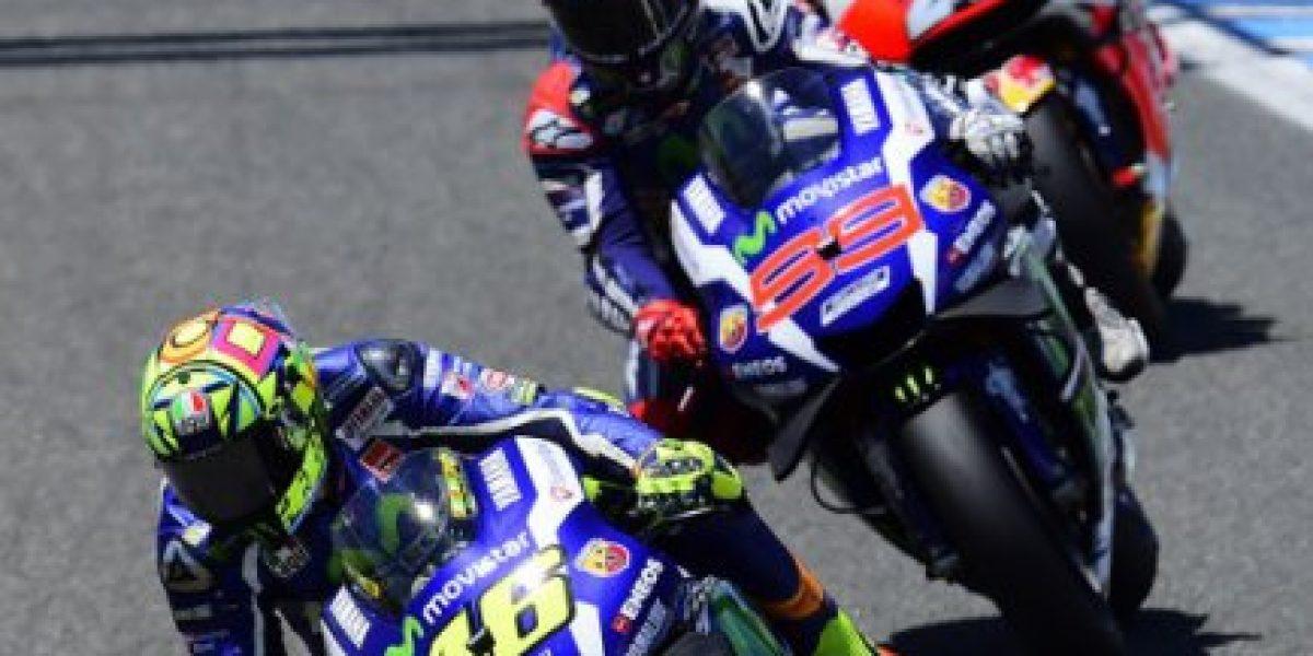 Como el vino: Valentino Rossi ganó el Gran Premio de España de Moto GP