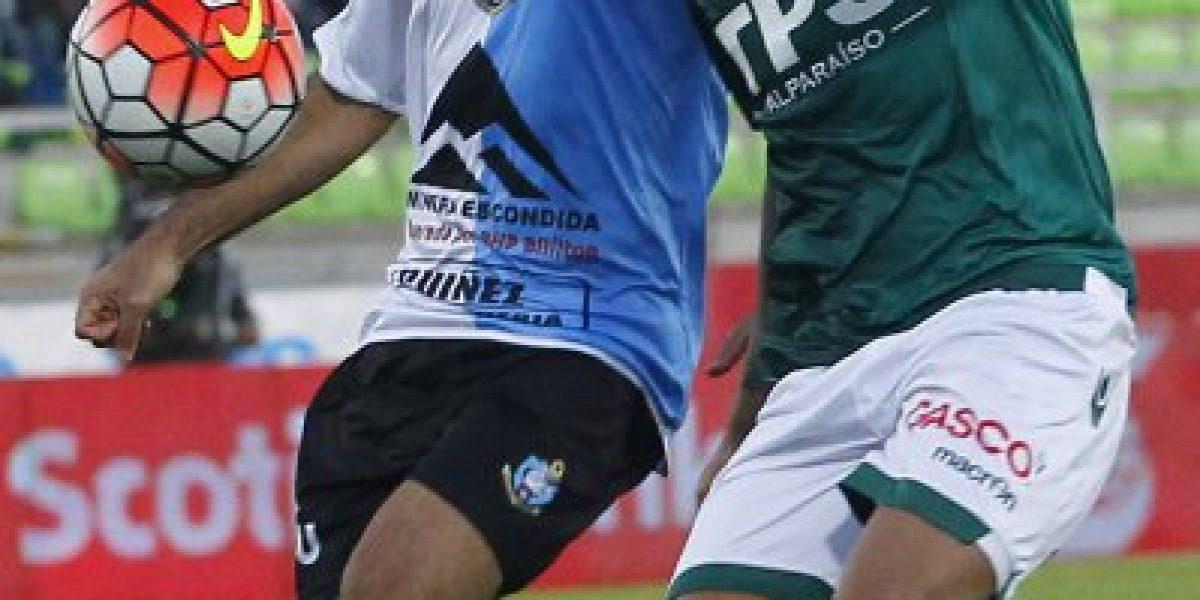 Wanderers se bajó de la pelea por el título tras batallado empate ante Antofagasta