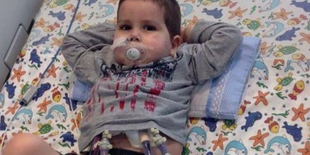Murió León Smith, el niño que esperó toda su vida por un corazón