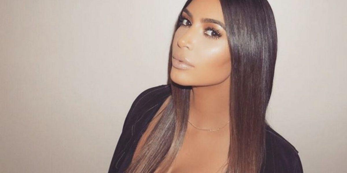 Kim Kardashian alborotó las redes sociales con estas fotografías