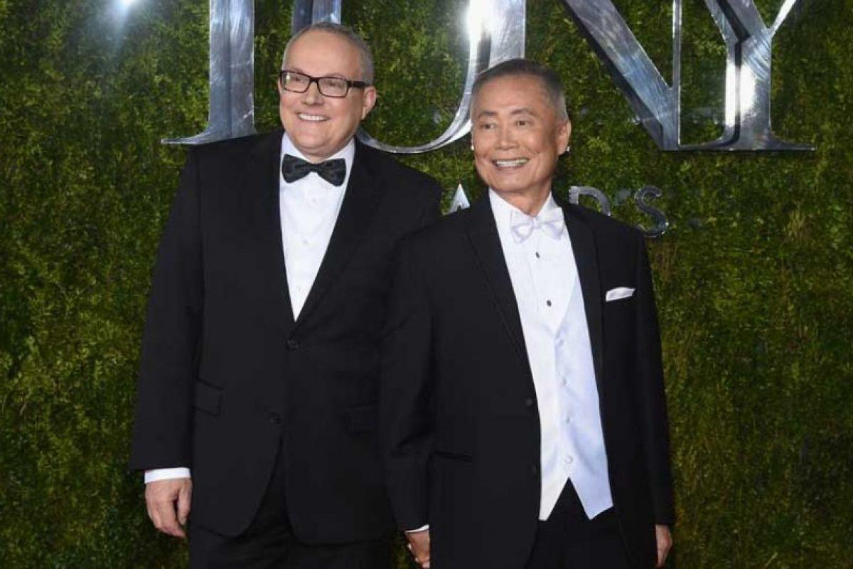 George Takei y Brad Altman Foto:Getty Images. Imagen Por: