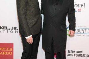 Elton John y David Furnish Foto:Getty Images. Imagen Por:
