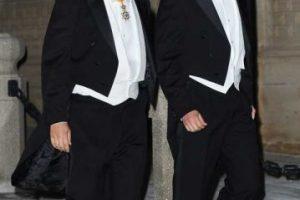 Xavier Bettel y Gauthier Destinay Foto:Getty Images. Imagen Por: