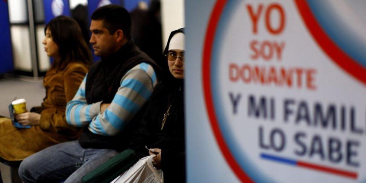 Averigua acá si estás inscrito en el Registro Nacional de No Donantes de órganos
