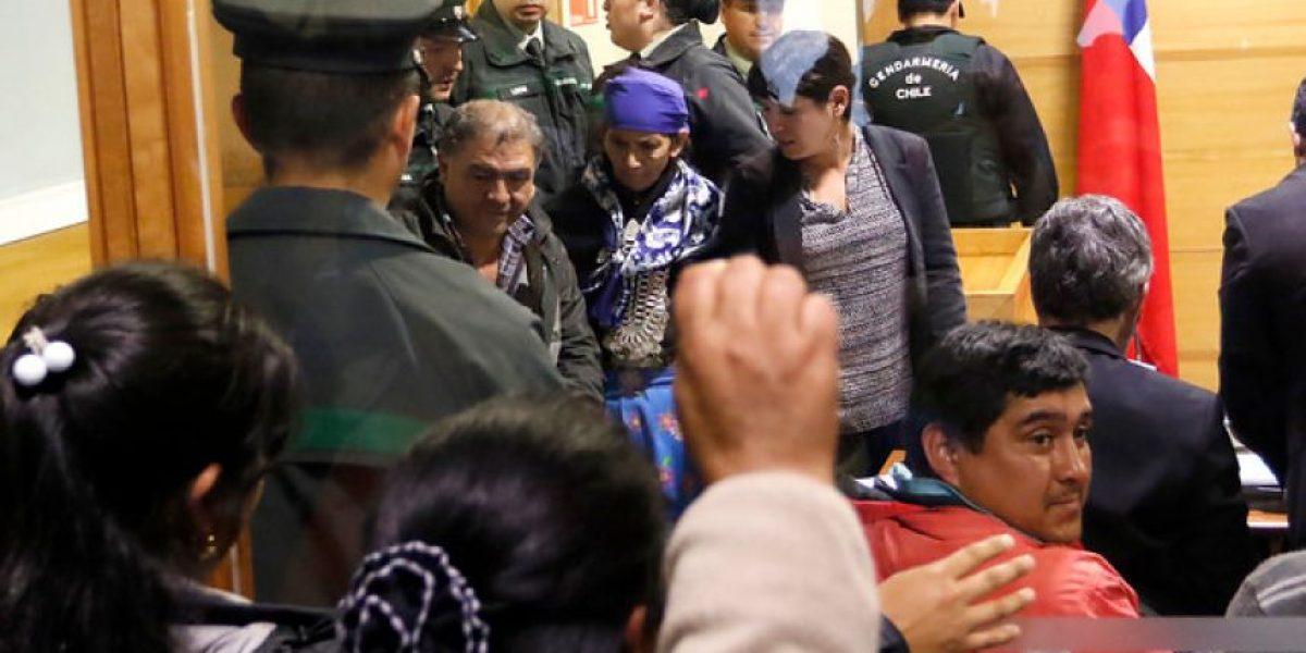 Mantienen prisión preventiva de comuneros mapuche imputados en caso Luchsinger