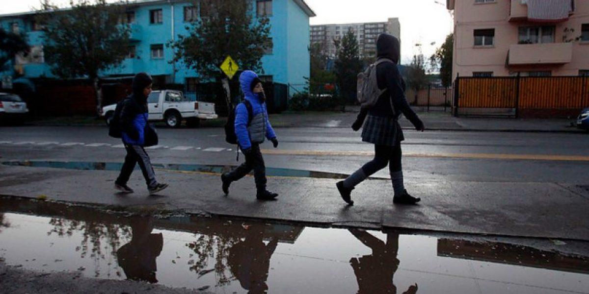 La mañana más fría del año en Santiago tras fin de sistema frontal