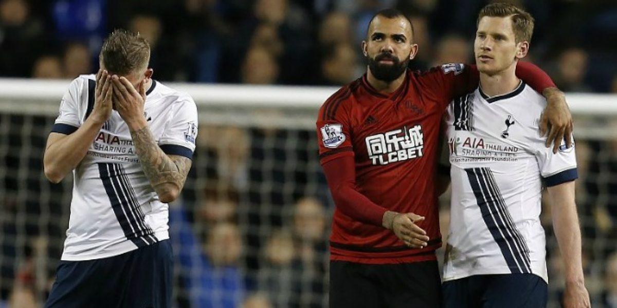 Tottenham no pudo con el West Bromwich y dejó al Leicester a un paso del título