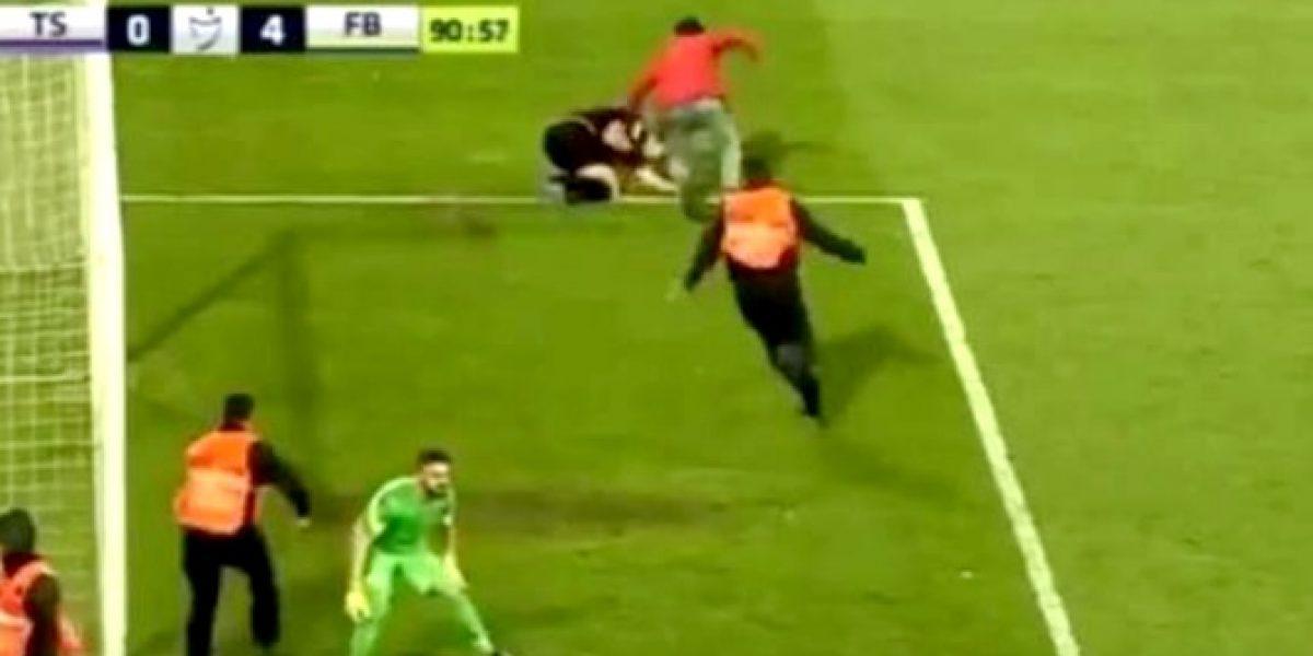 Video: La brutal agresión que recibió un árbitro en Turquía