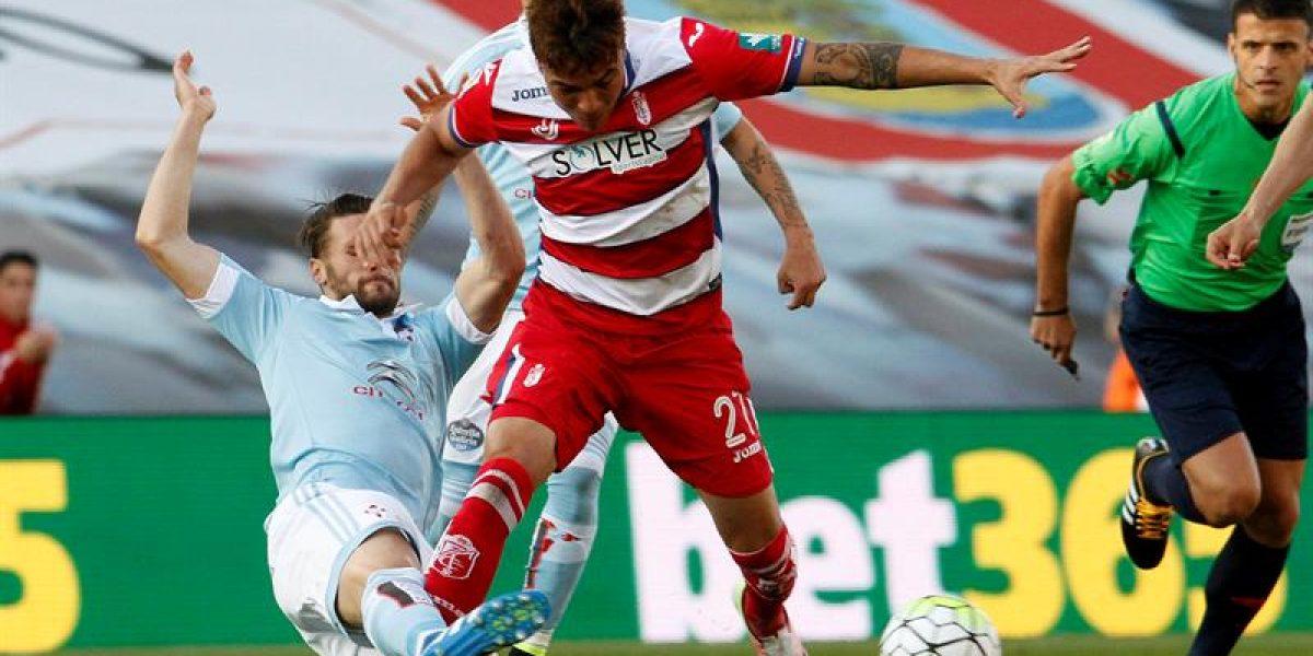 Con buena actuación de chilenos, Celta ganó y sueña con la Champions