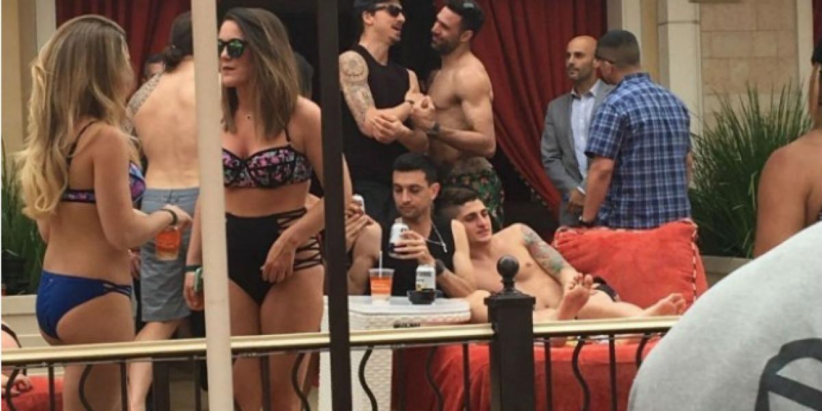 Jugadores del PSG se fueron hasta Las Vegas para celebrar un nuevo título