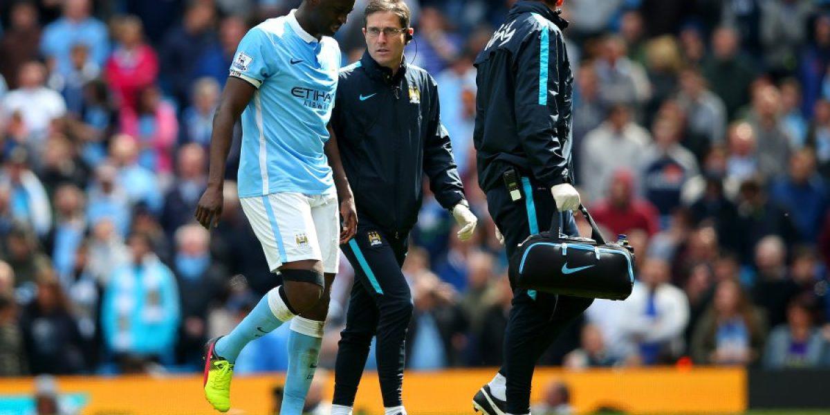 El lesionado Yaya Touré fue descartado por Pellegrini para el choque con Real Madrid