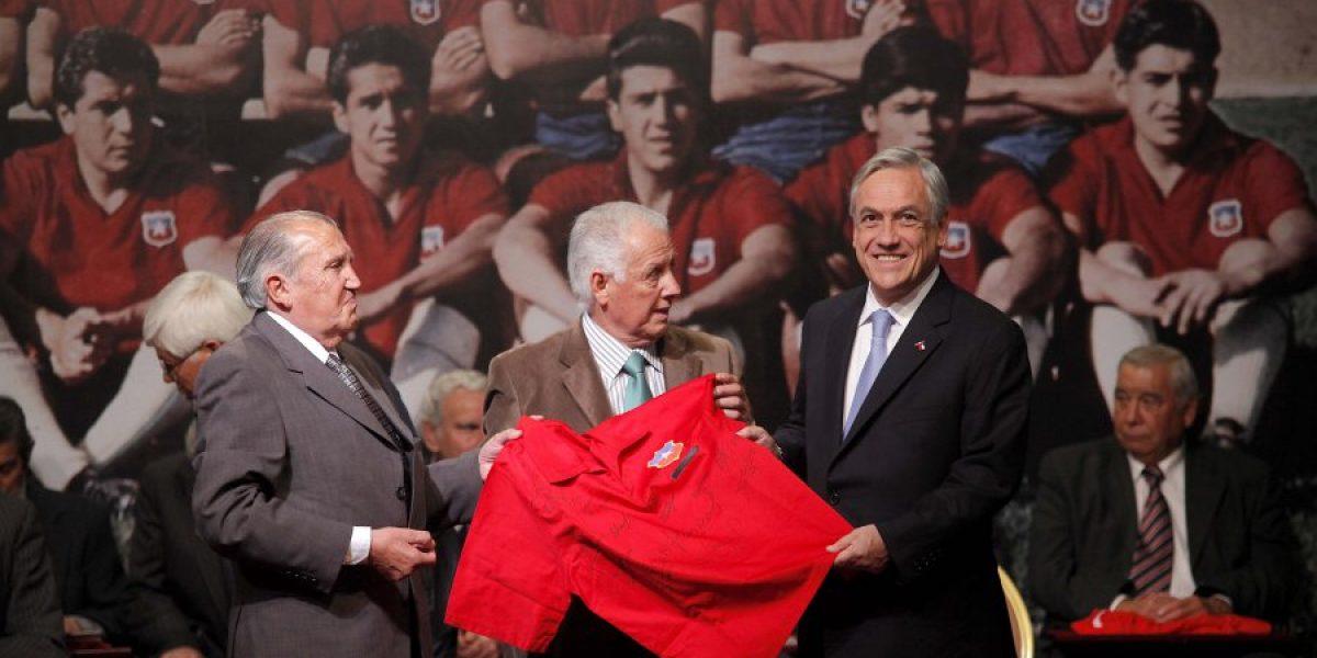 FIFA homenajeó a Leonel Sánchez en su cumpleaños 80