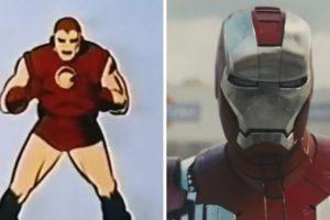 """Todas las transformaciones del líder de """"Los Vengadores"""" en cine y televisión. Foto:Marvel Comics. Imagen Por:"""