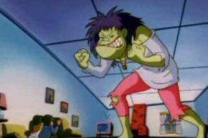 Kathy Ka Boom, la adolescente que se convertía en un monstruo por sus arranques de ira. Foto:vía Warner. Imagen Por: