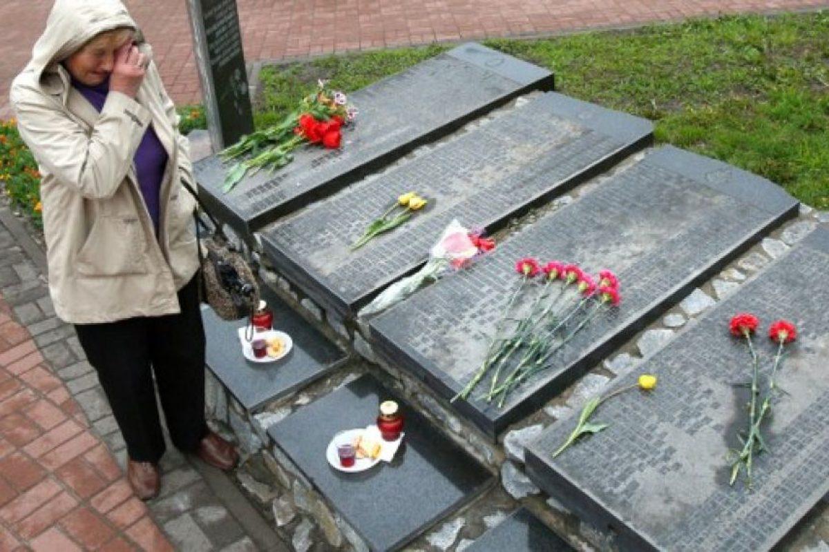 Rusia y Bielorrusia también conmemoraron a las víctimas. Foto:AFP. Imagen Por: