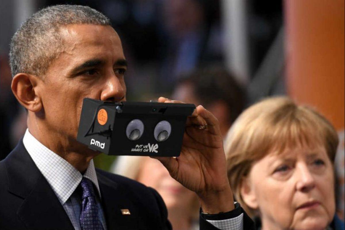 En la misma, Obama aseguró que EE.UU. tiene un compromiso con la innovación. Foto:Getty Images. Imagen Por:
