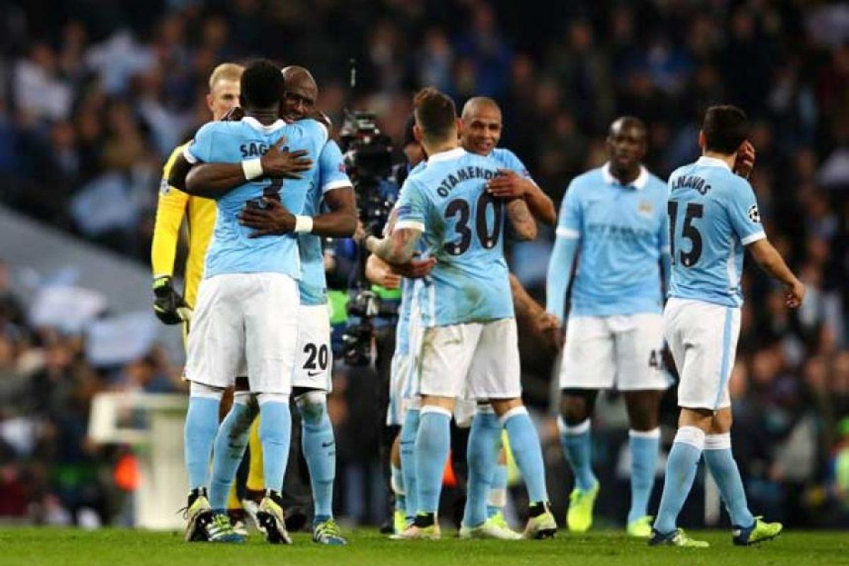 """Los """"Citizens"""" están en la semifinal de Champions League por primera vez en su historia. Foto:Getty Images. Imagen Por:"""