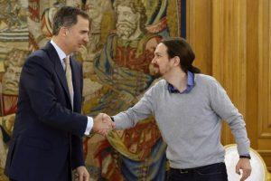 Felipe y Pablo Iglesias, de Podemos. Foto:Efe. Imagen Por: