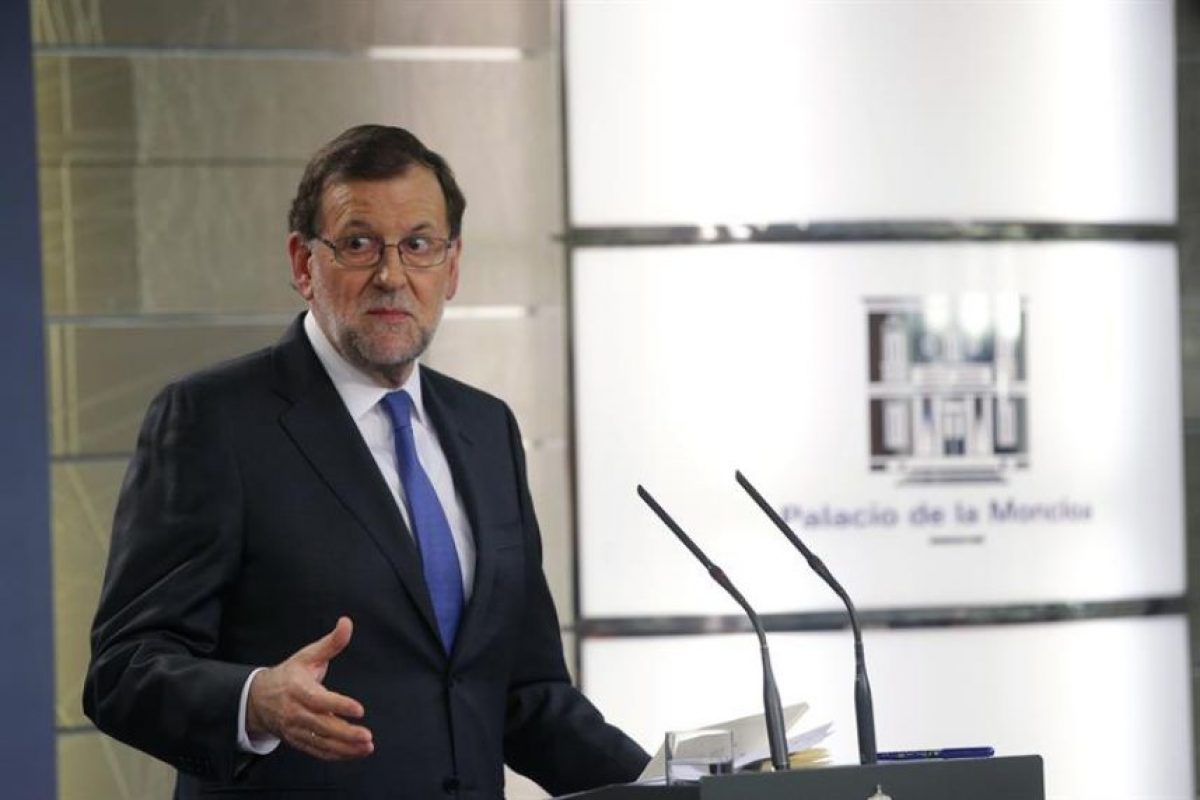 Mariano Rajoy, el último presidente de España. Foto:Efe. Imagen Por: