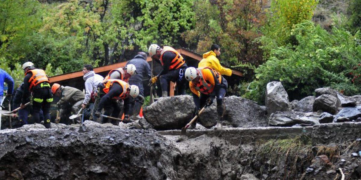 Encuentran cuerpo de tercer desaparecido por aluvión en San José de Maipo