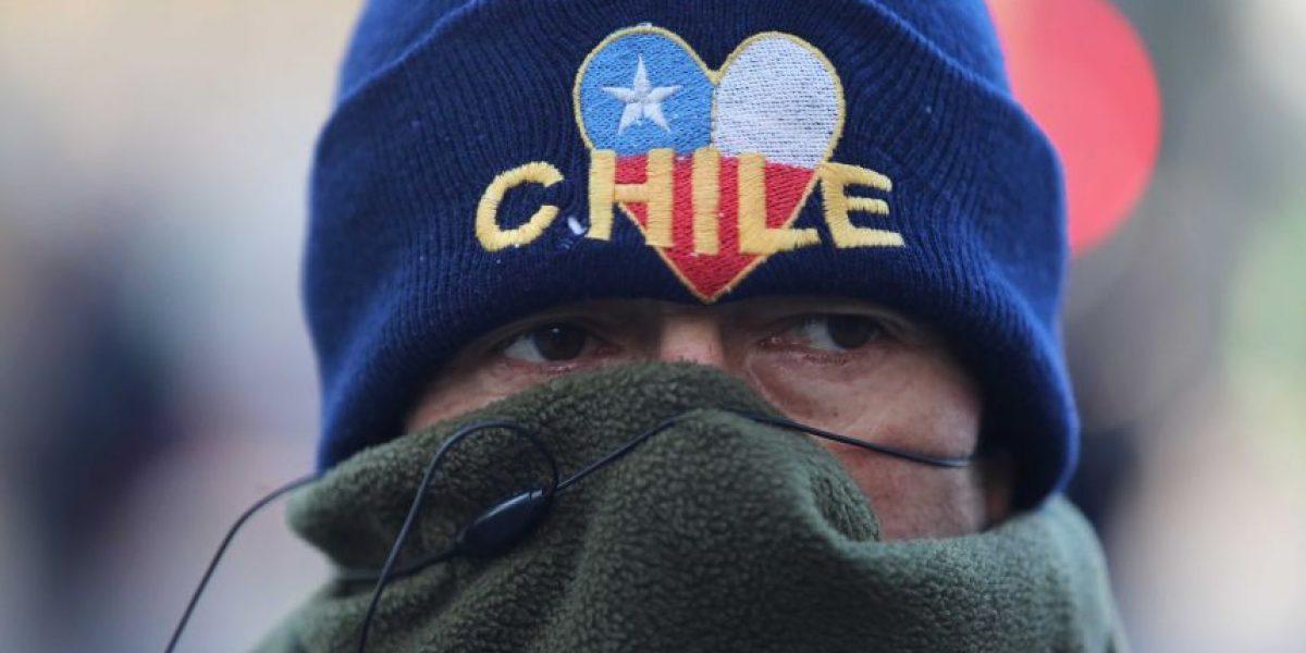 Tuiteros se tomaron con humor segunda jornada de frío matinal en Santiago