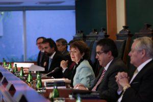 Audiencia Publica en el Tribunal Constitucional Foto:Agencia Uno. Imagen Por: