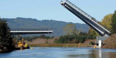 MOP anuncia demolición del polémico puente Cau Cau