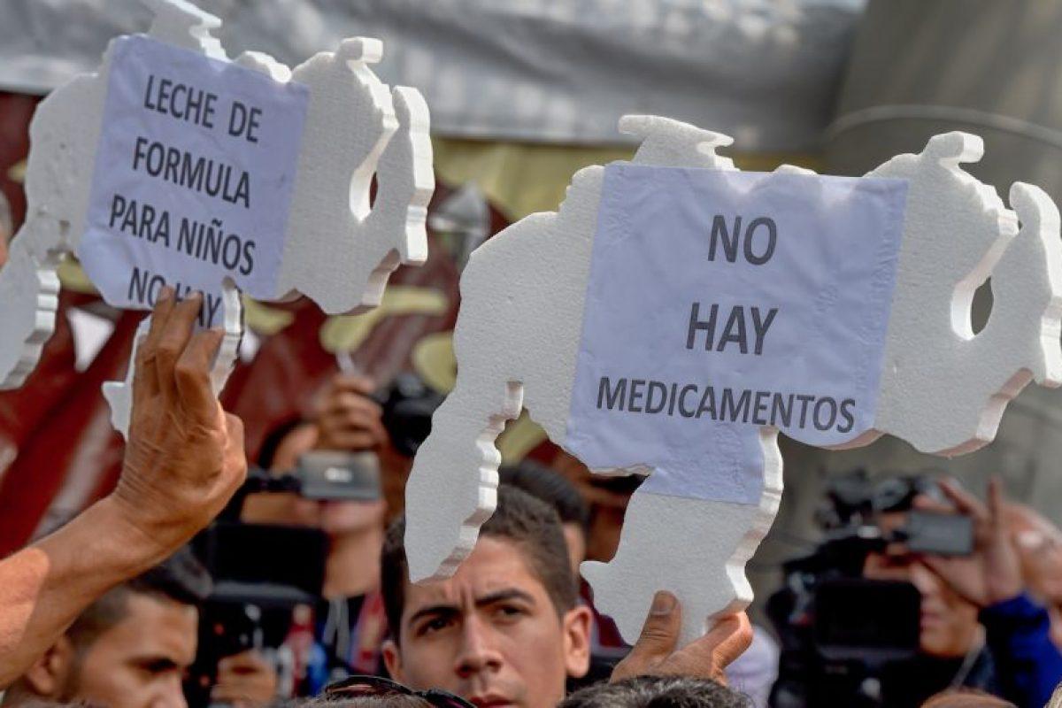 Venezuela se encuentra sumida en una crisis política, económica, energética y de insumos básicos sin precedentes. Foto:AFP. Imagen Por: