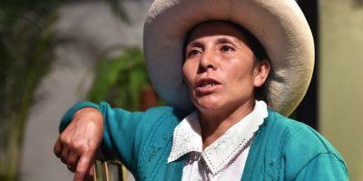 Una humilde campesina peruana, en guerra contra una gigante minera