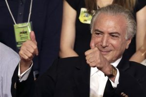 """La primera mujer presidenta de Brasil asegura que es víctima de """"un golpe de Estado"""", apoyado por el vicepresidente, Michel Temer. Foto:AP. Imagen Por:"""