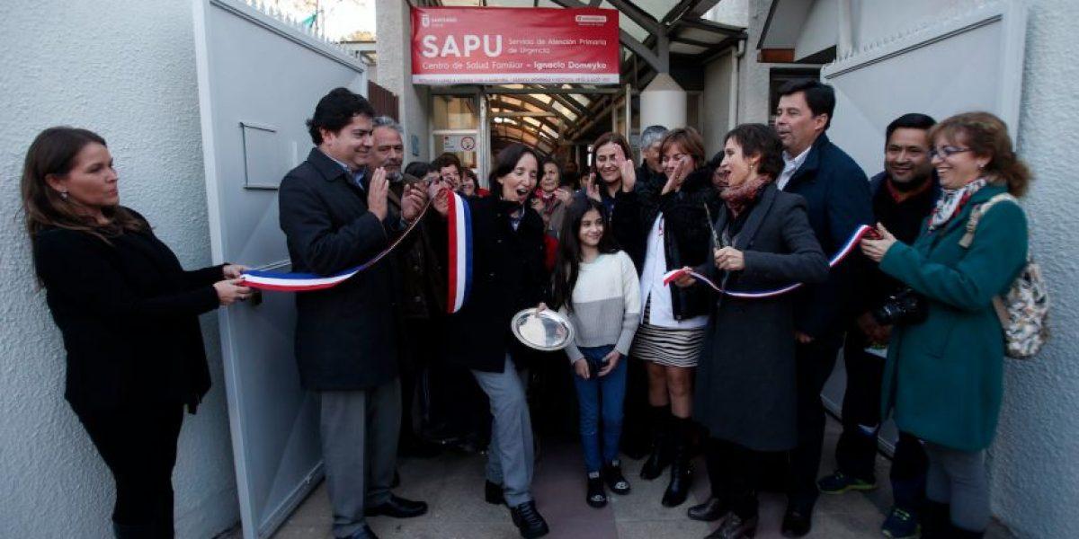 Alcaldesa Tohá inaugura primer SAPU municipal de la comuna en Barrio Yungay