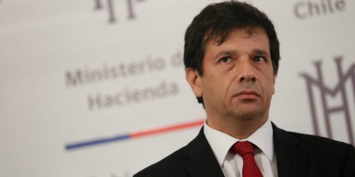 Subsecretario de Hacienda por desempleo: