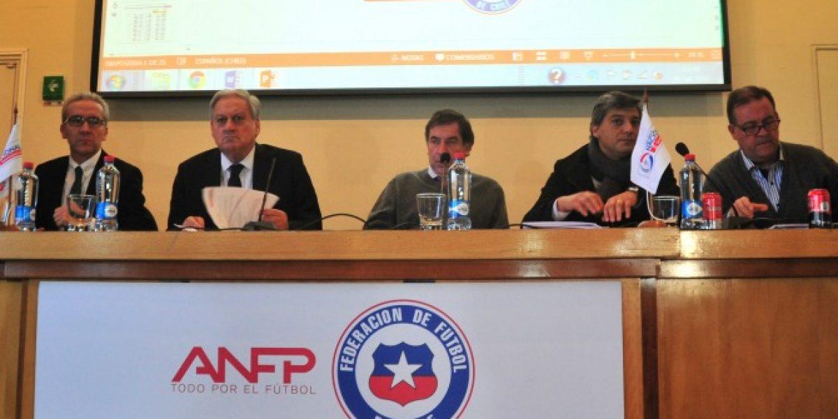 ANFP avala desafiliación:
