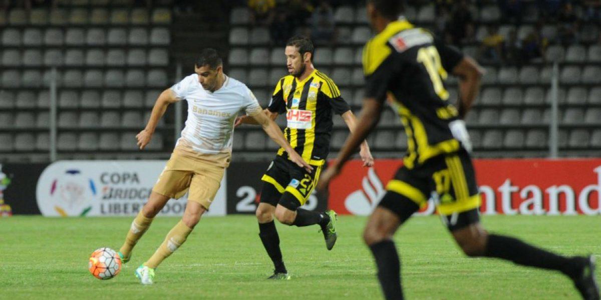 Deportivo Táchira sorprende a Pumas en el inicio de los octavos de la Libertadores