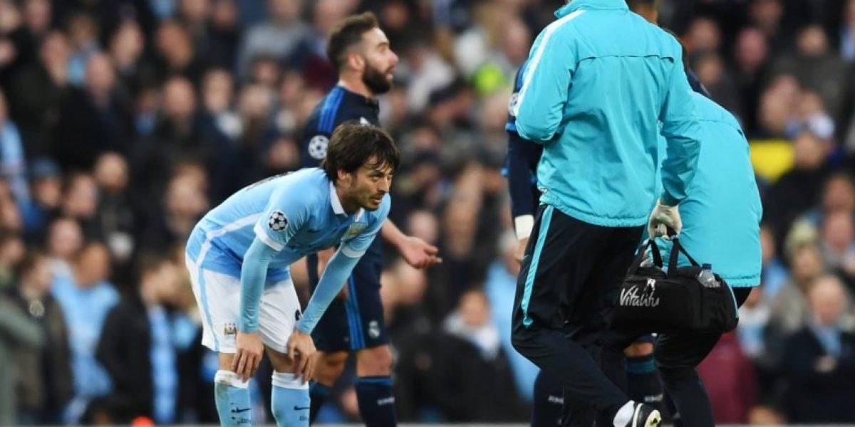 Una mala para Pellegrini: David Silva no estará en el City para la revancha ante el Madrid