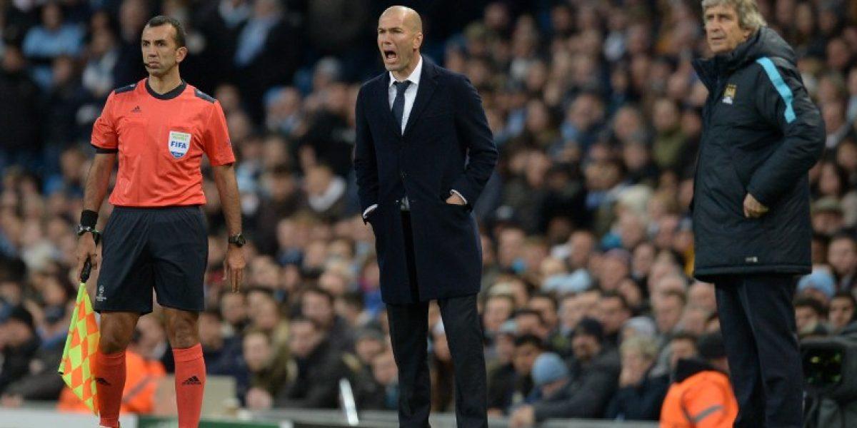 A cambiar el sastre: Zidane volvió a romper sus pantalones
