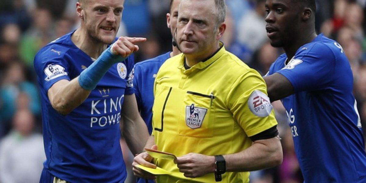 Vardy se perderá por sanción el partido que puede coronar campeón al Leicester