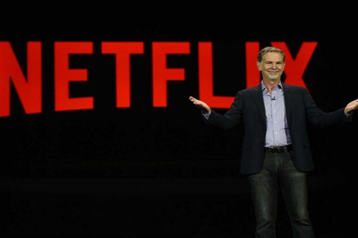 Su creador, Reed Hastings, tuvo la idea de crear Netflix cuando Blockbuster le cobró 40 dólares de multa. Foto:Getty Images. Imagen Por: