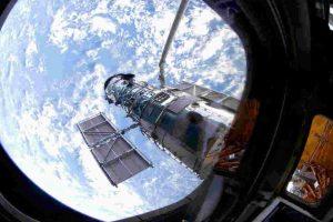 Fue puesto en órbita el 24 de abril de 1990. Foto:Getty Images. Imagen Por:
