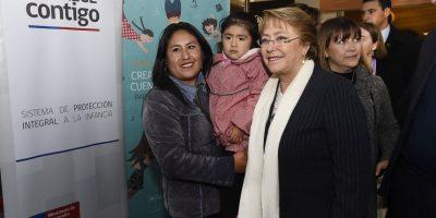 Bachelet encabezó lanzamiento de concurso de Creación Musical y Cuentos