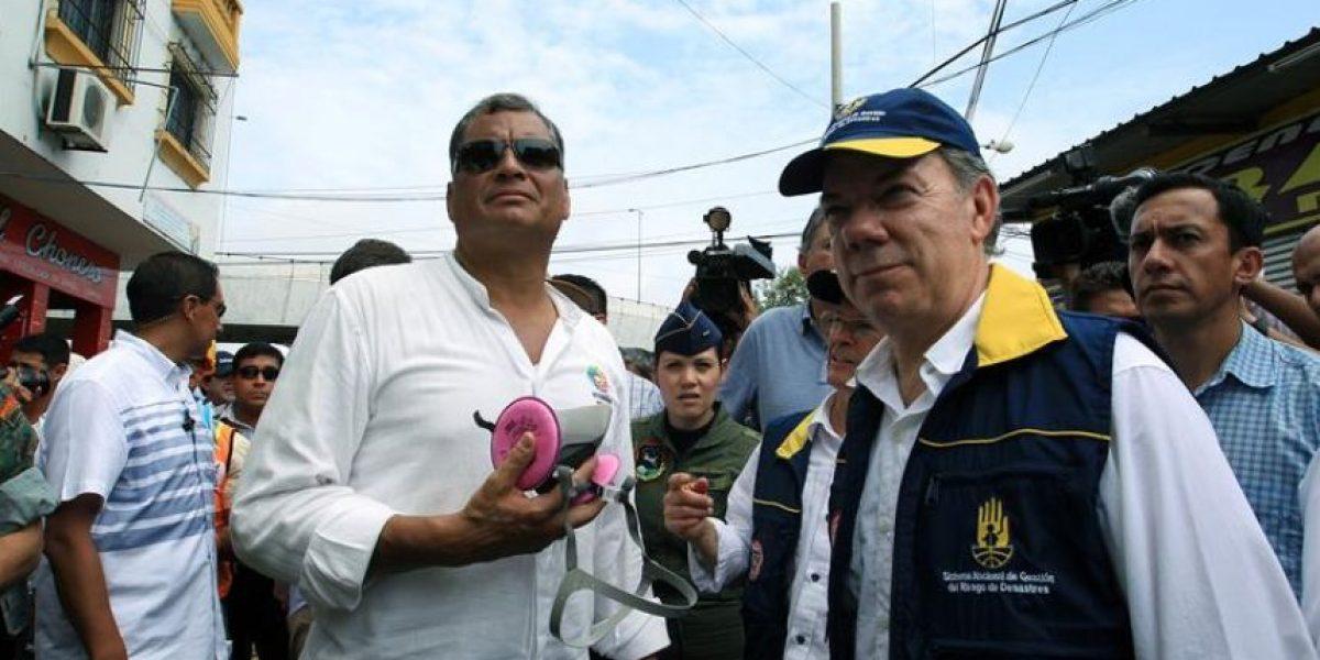 Presidentes de Perú, Colombia y Bolivia viajan a la zona afectada por terremoto en Ecuador