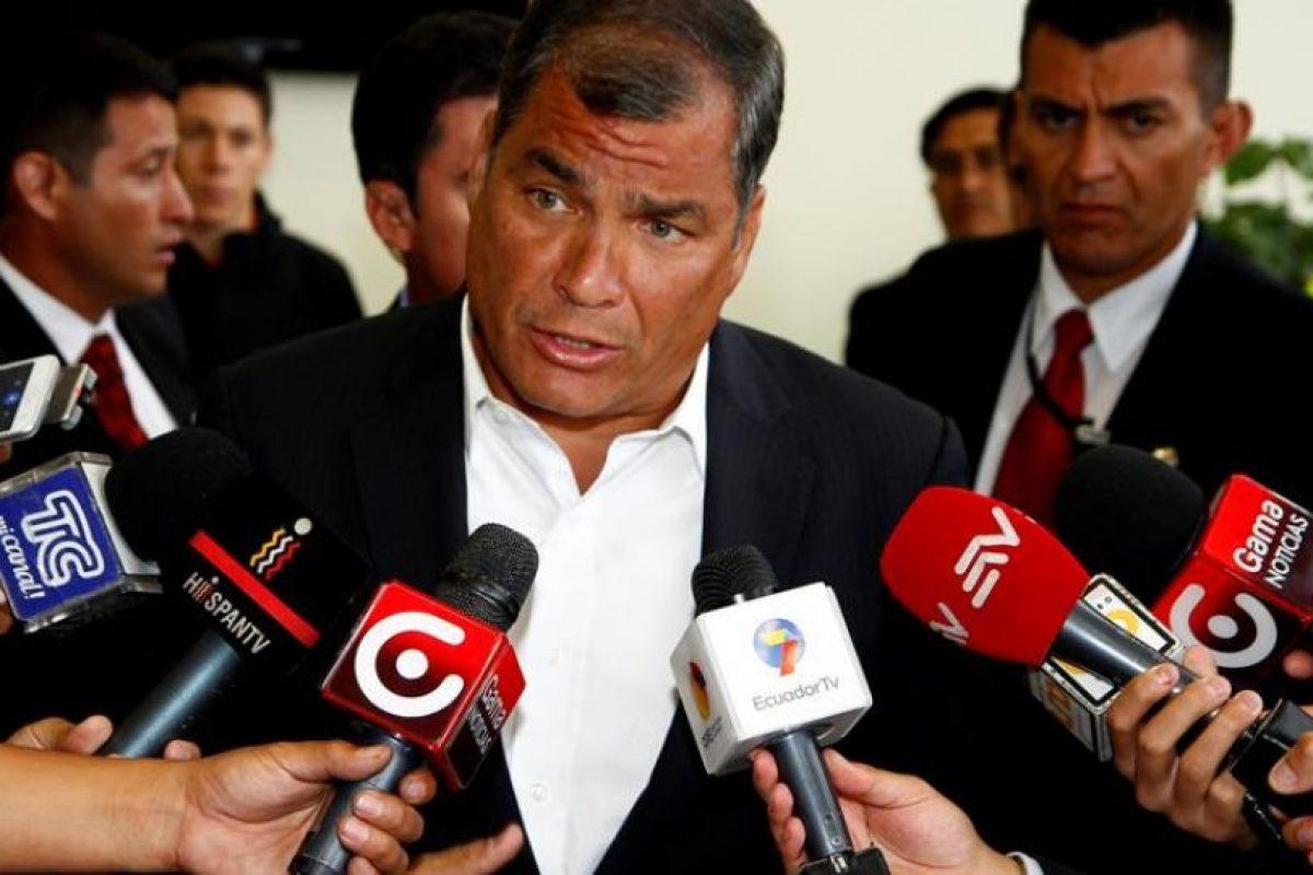 Rafael Correa, presidente de Ecuador. Foto:Efe. Imagen Por: