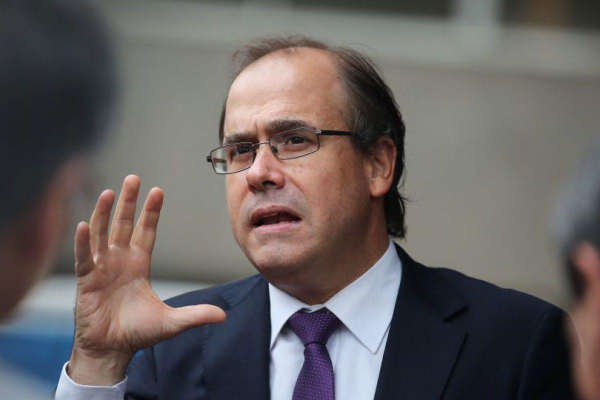 Ministro Alberto Undurraga Foto:Agencia Uno. Imagen Por:
